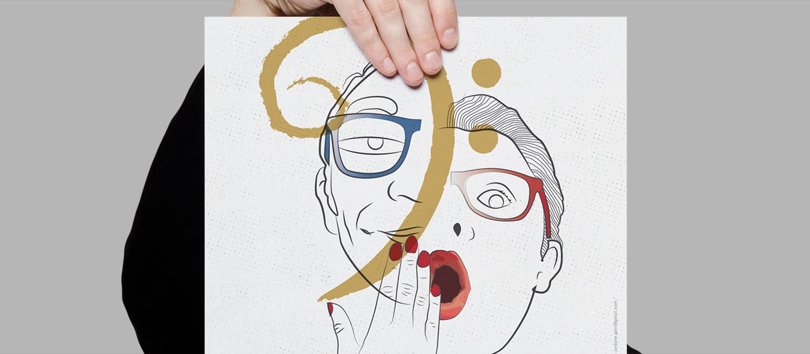 Affiche réalisée pour le spectacle Reetmic.fr