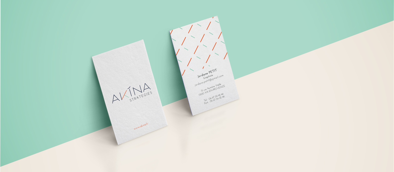 Carte de visite - AKINA STRATEGIES