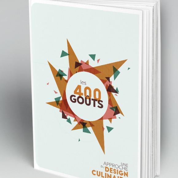 Les 400 goûts - couverture du livre