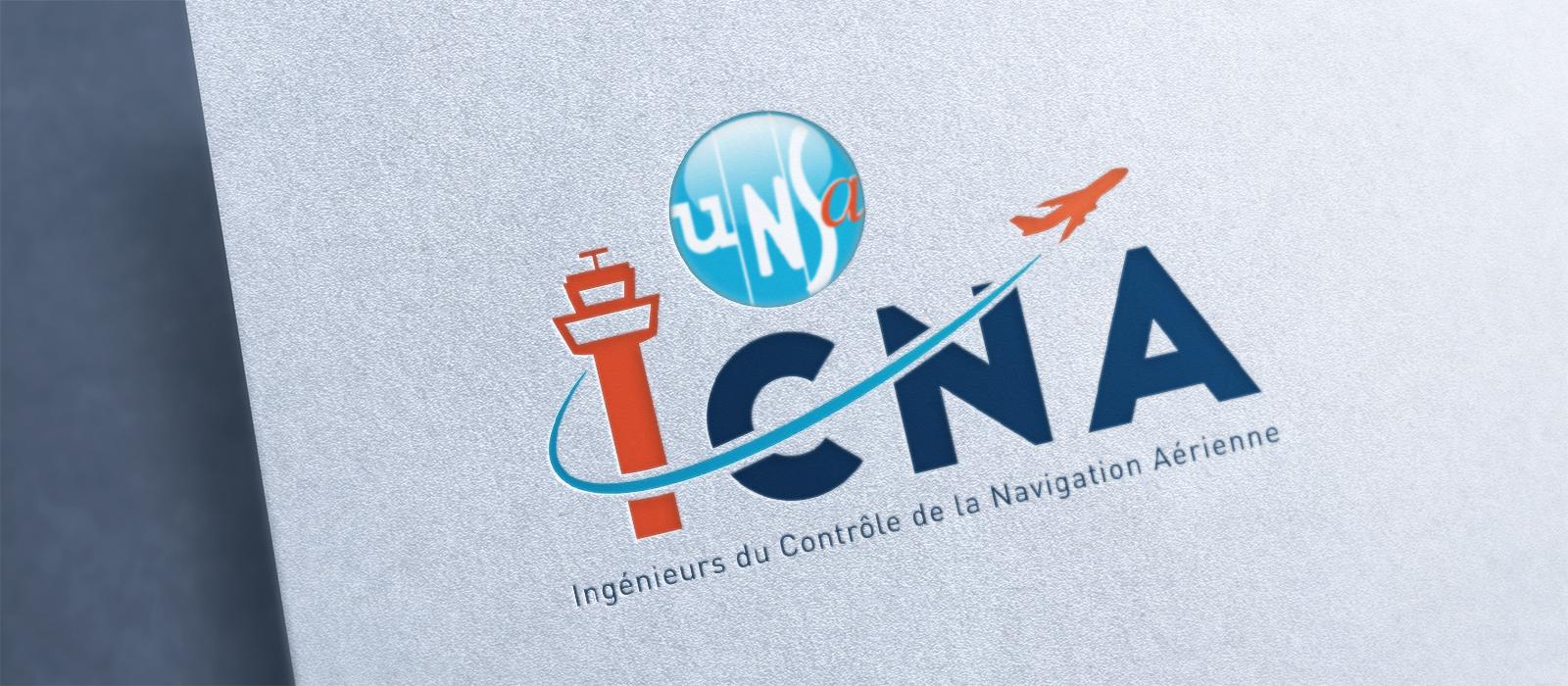 UNSA ICNA logotype