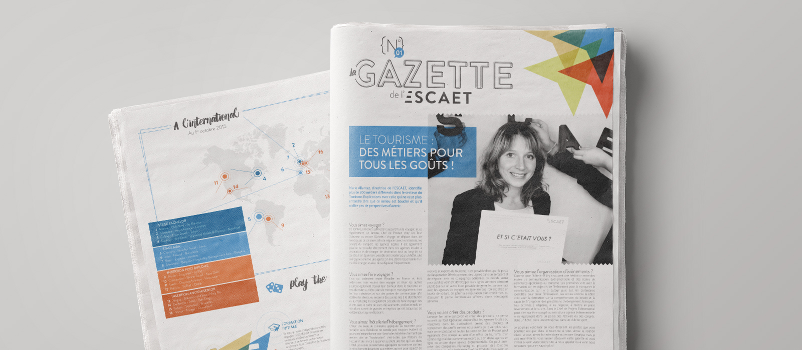 escaet - gazette n°1