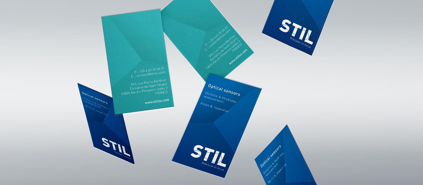 Carte de visite de la société STIL