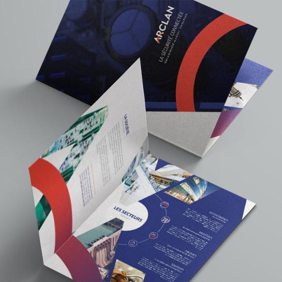 Plaquette commerciale - ARCLAN