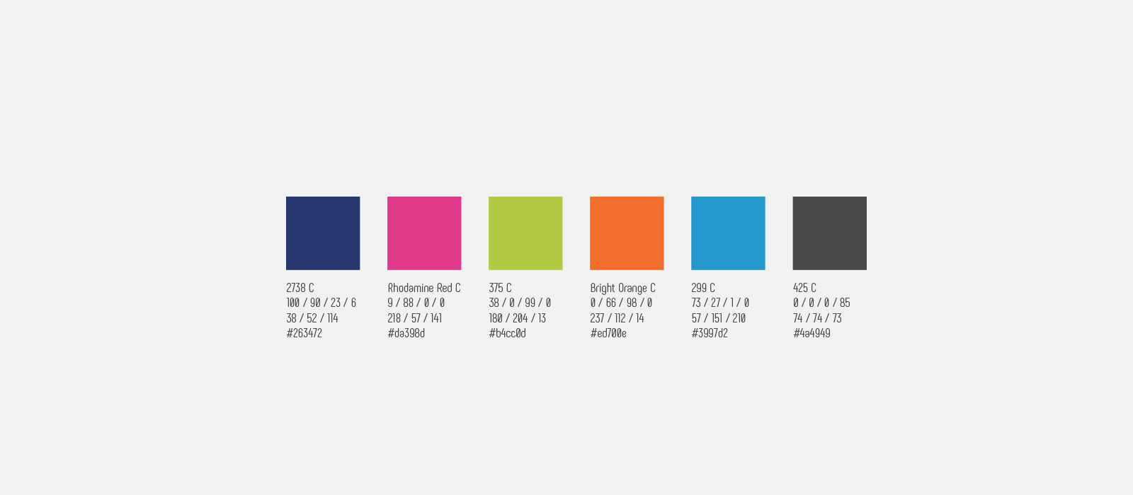 Gamme couleurs - Institut DATAIA