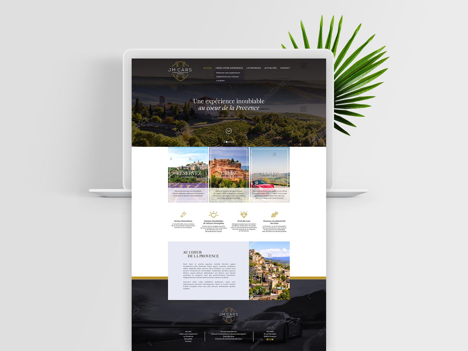 Web design personnalisé - JMCARS