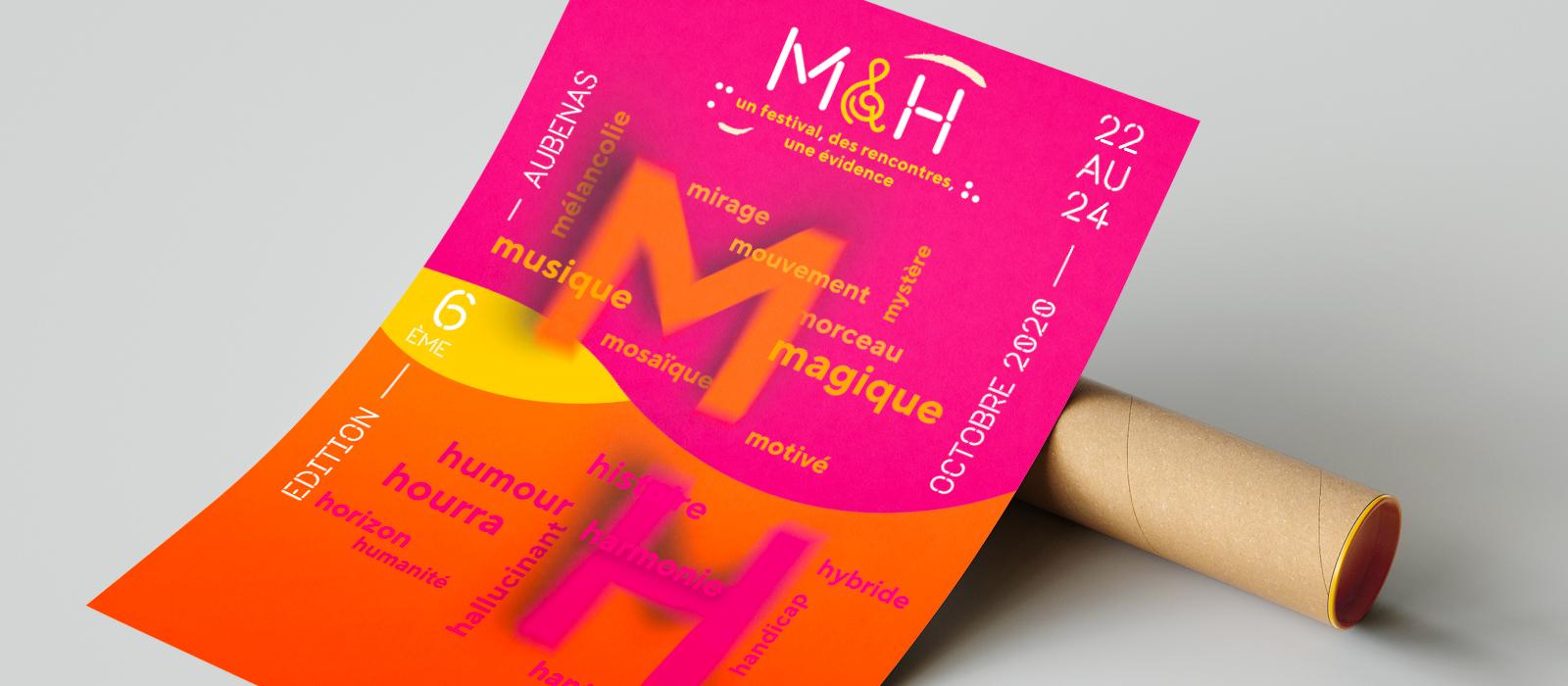Affiche du Festival M&H
